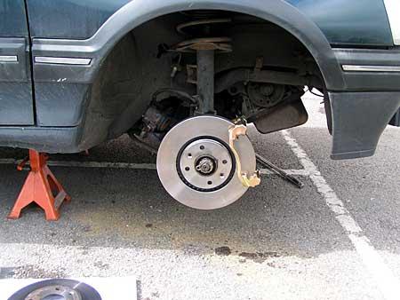 206/307 big brake conversion - brakes, suspension & steering